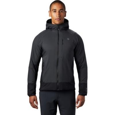 マウンテンハードウェア Mountain Hardwear メンズ ジャケット アウター kor cirrus hybrid hoody jacket Dark Storm