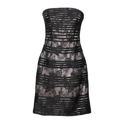 FABIANA FERRI ミニワンピース&ドレス ブラック 44 ポリエステル 100% ミニワンピース&ドレス