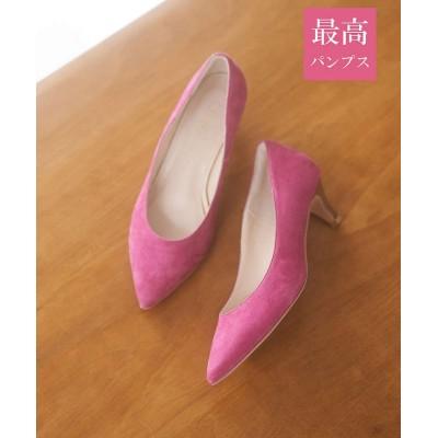 (PICHEABAHOUSE/ピシェアバハウス)【最高パンプス/5cmヒール】美脚×快適 パンプス/レディース ピンク
