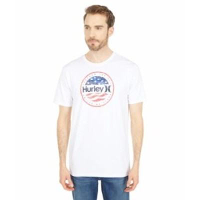 ハーレー メンズ シャツ トップス Premium One & Only Americana Push Short Sleeve Tee White