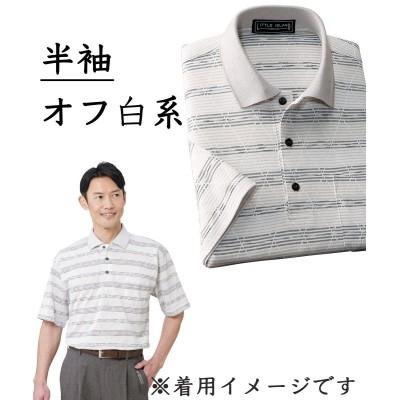 日本製)ジャカードニットシャツ カジュアルシャツ, Shirts,