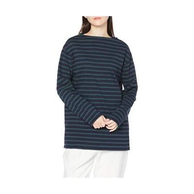 [セントジェームス] Tシャツ 2501無地 ネイビー/ピン LADIES M-L [並行輸入品]