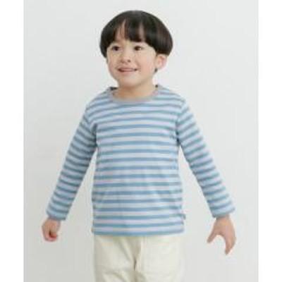 アーバンリサーチドアーズオーガニックボーダーロングTシャツ(KIDS)【お取り寄せ商品】
