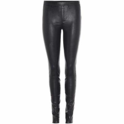 ヘルムート ラング Helmut Lang レディース ボトムス・パンツ Leather trousers Black