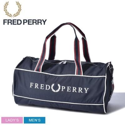 (クーポンで500円OFF) フレッドペリー FRED PERRY ボストンバッグ レトロ ブランディドゥ バレル バッグ 鞄 旅行 L5275