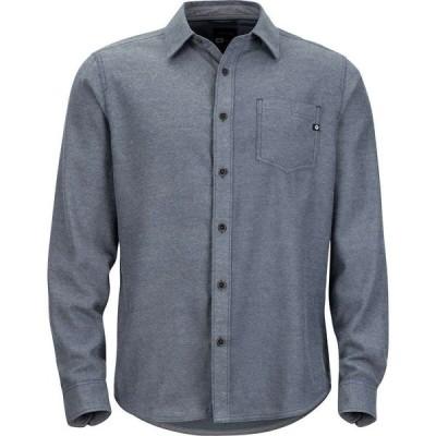 マーモット Marmot メンズ シャツ フランネルシャツ トップス Hobson Midweight Flannel Long - Sleeve Shirt Dark Indigo Heather