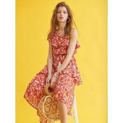 Estella.K (エステラケー) レディース San Miguel Dress RED F