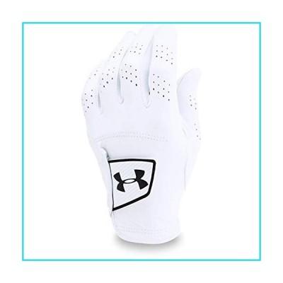 Under Armour Men's Spieth Tour Golf Gloves , White (100)/Black , Left Hand Medium/Large【並行輸入品】