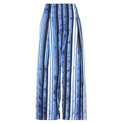 LANACAPRINA パンツ ブルー 40 ポリエステル 78% / レーヨン 22% パンツ
