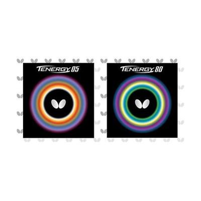 バタフライ(Butterfly) 卓球 ラバー テナジー 05 ハイテンション 裏ソフト 05800 ブラック 特厚 & 卓球 ラバー テナジ