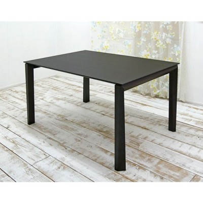 イタリア製 伸張式テーブル 幅130cm 2段階エクステンションテーブル180cm 230cm ダイニングテーブル単品 2段階エクステンションテーブル