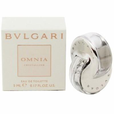 【送料無料】 ブルガリ オムニア クリスタリン EDT オードトワレ 5ml ミニ香水 BVLGARI