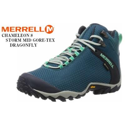 MERRELL カメレオン8ストームミッドゴアテックス(メレル)CHAMELEON 8 STORM MID GORE-TEX レディス アウトドアトレッキングカジュアル