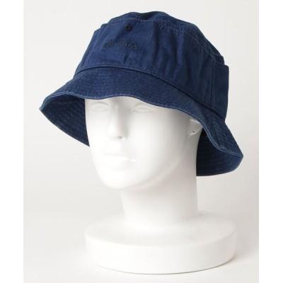 make a ray! / 【WILD THINGS/ワイルドシングス】デニムバケットハット ブランドロゴ / HAT/ 帽子 MEN 帽子 > ハット