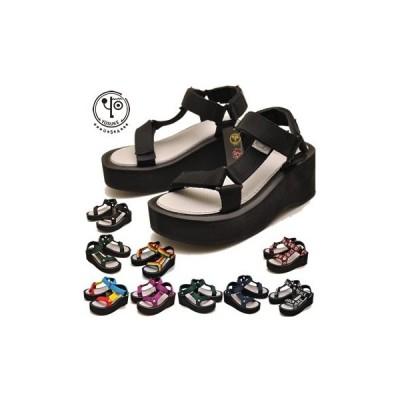 厚底ビーチサンダル レディース ヨースケ YOSUKE 靴 ※(予約)は3営業日内に発送