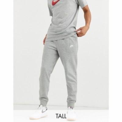 ナイキ Nike メンズ ジョガーパンツ ボトムス・パンツ Plus Club cuffed jogger in grey グレー