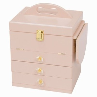 【送料無料】萩原 コスメボックス MUD-6835PI ピンク