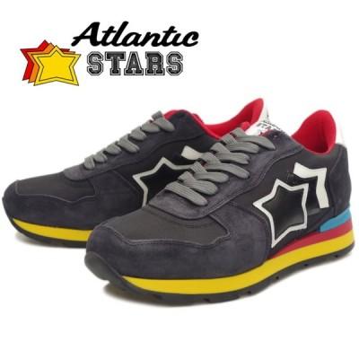 Atlantic STARS アトランティックスターズ メンズ スニーカー ANTARES アンタレス BLACK 89C レザー カジュアル シューズ ローカット 靴