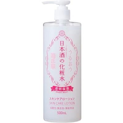 菊正宗酒造 日本酒の化粧水 透明保湿 500ml