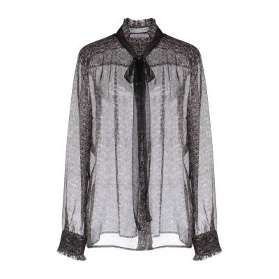 フィロソフィ ディ ロレンツォ セラフィニ PHILOSOPHY di LORENZO SERAFINI シャツ ブラック 44 100% シルク