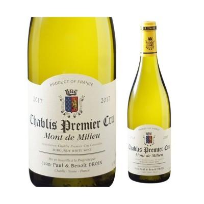 シャブリ プルミエ クリュ モン ド ミリュ 2017 ジャンポール エ ブノワ ドロワン 750ml フランス ブルゴーニュ 白ワイン 1級