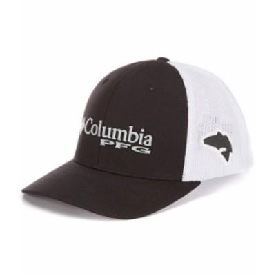 コロンビア メンズ 帽子 アクセサリー PFG Mesh Cap Black