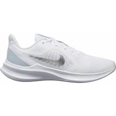 ナイキ レディース スニーカー シューズ Nike Women's Downshifter 10 Running Shoes White/Silver