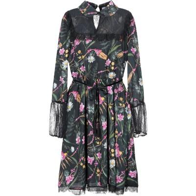 ブルーガール ブルマリン BLUGIRL BLUMARINE ミニワンピース&ドレス ブラック 40 ポリエステル 100% / ナイロン ミニワン