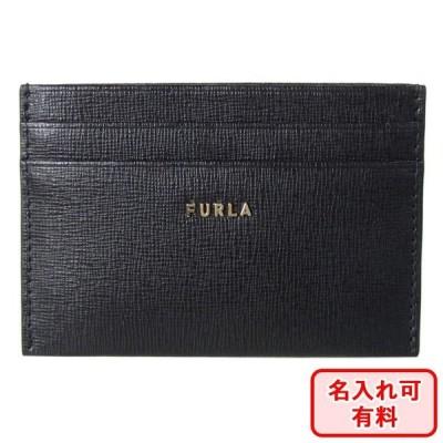 フルラ FURLA カードケース バビロン レディース 1056914 NERO ブラック PCZ2UNO B30000 O6000 名入れ可有料