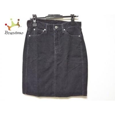 クロス&クロス Cloth&Cross スカート サイズ2 M レディース 黒       スペシャル特価 20200727