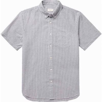 クラブ モナコ CLUB MONACO メンズ シャツ トップス striped shirt Grey