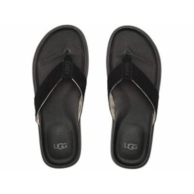 (取寄)アグ メンズ ブルックサイド フリップ UGG Men's Brookside Flip Black
