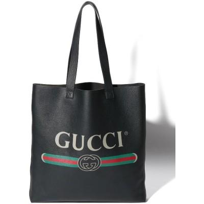 【グッチ】 Gucci Printed Tote Bag ユニセックス Black F GUCCI