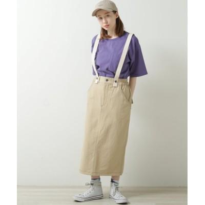 スカート サス付きナロースカート
