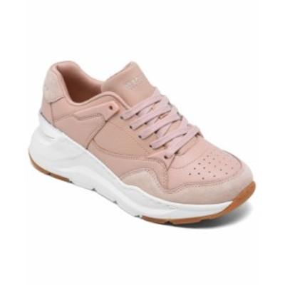 スケッチャーズ レディース スニーカー シューズ Women's Rovina - Cool to the Core Casual Sneakers from Finish Line Tan