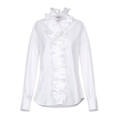 パロッシュ P.A.R.O.S.H. シャツ ホワイト S コットン 100% シャツ