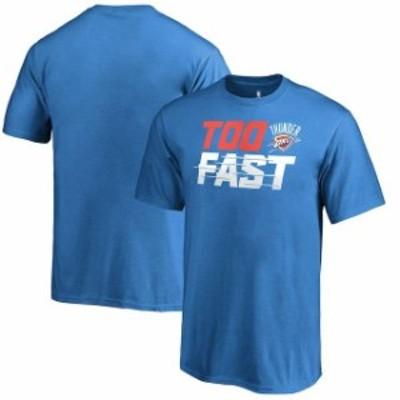 Fanatics Branded ファナティクス ブランド スポーツ用品  Fanatics Branded Oklahoma City Thunder Youth Blue Too Fast T-Shirt