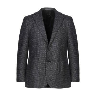 LUBIAM テーラードジャケット スチールグレー 48 ウール 80% / ナイロン 20% テーラードジャケット