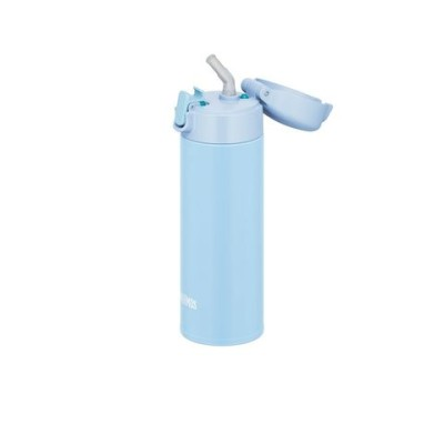 【サーモス】真空断熱ストローボトル FJM-350 LB  水筒 ベビー キッズ【同梱不可】[▲][KM]