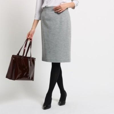 クード シャンス(COUP DE CHANCE)/ウール混ジャージタイトスカート