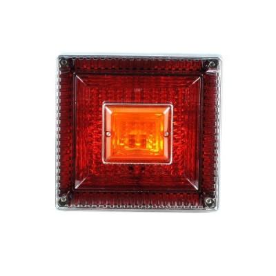 9241338 JB<改>角大型テール用テールランプ単体 赤/橙|JB日本ボデーパーツ工業