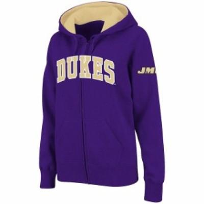 Stadium Athletic スタジアム アスレティック スポーツ用品  Stadium Athletic James Madison Dukes Womens Purple Ar