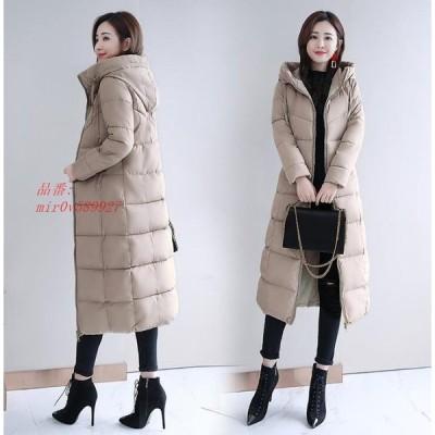 中綿コート 厚手 キルティングコート 防寒 冬服 大きいサイズ 通勤 アウター 暖かい レディース ロング丈 ダウン風コート