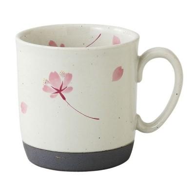 食器 マグカップ 贈り物 有田焼 陶器 日本製   桜の舞 マグ (桃) 66419