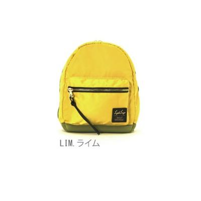 (BACKYARD/バックヤード)レガートラルゴ Legato Largo #LH-B1027 高密度ナイロン素材xダイバー素材 リュックサック mini/ユニセックス ライム