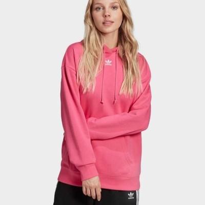 アディダス レディース パーカー TREFOIL ESSENTIALS HOODED - Hoodie - pink not defined