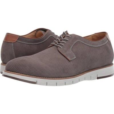 ジョンストンアンドマーフィー J&M Collection メンズ シューズ・靴 Martell Perf Plain Toe Gray