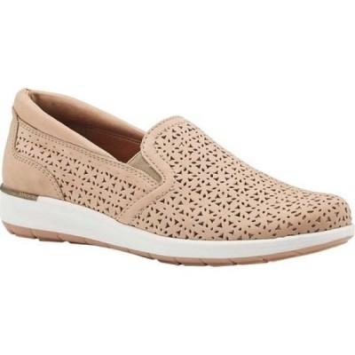 ウォーキング クレードル Walking Cradles レディース スリッポン・フラット シューズ・靴 Orleans Sneaker Taupe Leather