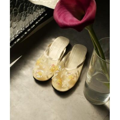 Dorry Doll/ Luxe brille / 【CURIBISCUI】ベトナム製 メッシュ ビーズ サンダル WOMEN シューズ > サンダル
