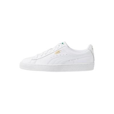 プーマ スニーカー メンズ シューズ BASKET CLASSIC - Trainers - white